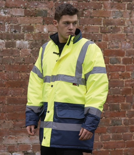 Warrior Denver Hi-Vis Jacket